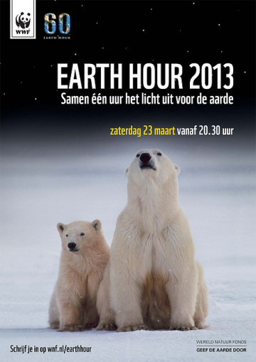 wnf poster earth hour